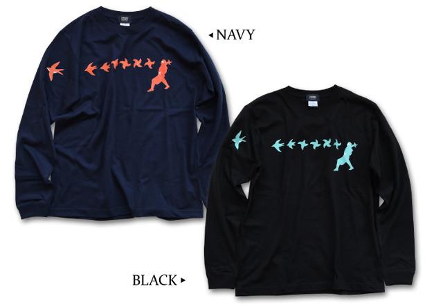 忍者の和柄Tシャツ(半袖・長袖など)は【nesnoo】でお買い求めください~メンズ・レディースどちらも取り扱い~