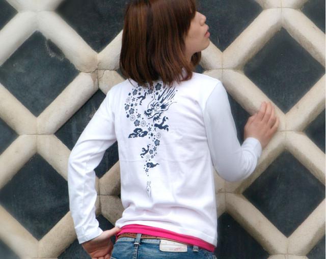 龍の和柄Tシャツなら【nesnoo】~長袖・半袖ともにメンズでもレディースでも着られるデザイン~